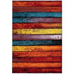 design vloerkleed met vrolijke kleuren
