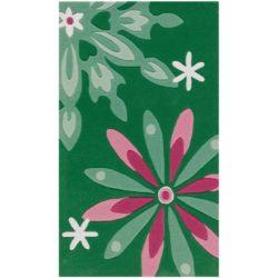 Kinderkleed-Bloemen-Groen