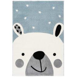 Kindervloerkleed-ijsbeertje-blauw