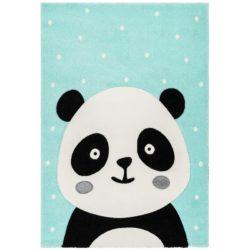 Kindervloerkleed-Panda-Groen