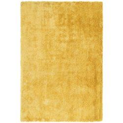 Geel hoogpolig karpet
