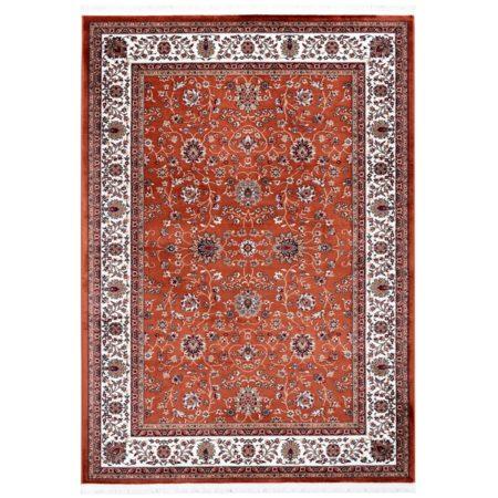 Oranje-Perzisch-tapijt-vloerkleed