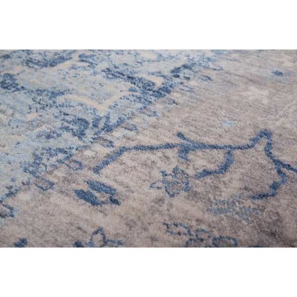 Turquoise blauw Perzisch tapijt