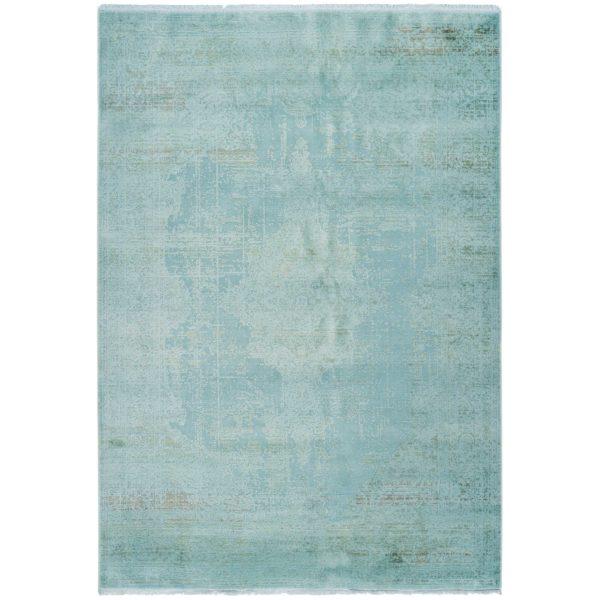Mintgroen vintage tapijt