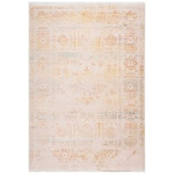 Oranje vintage tapijt
