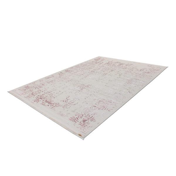 Crèmekleurig vintage tapijt