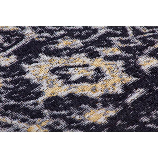 Zwart vintage tapijt