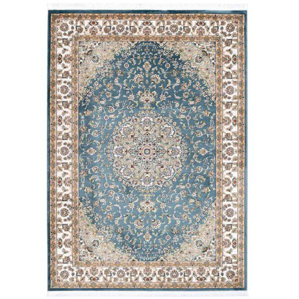 Lichtblauw Perzisch vloerkleed Resos
