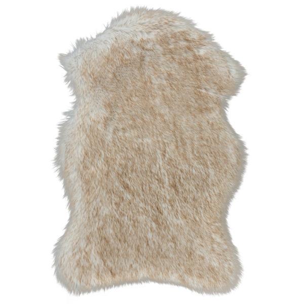 Vloerkleed-Schapenvacht-Beige
