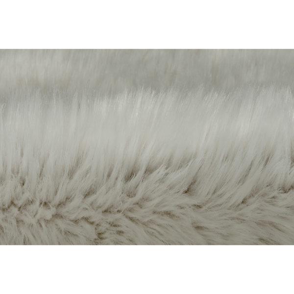 Wit schapenvacht vloerkleed