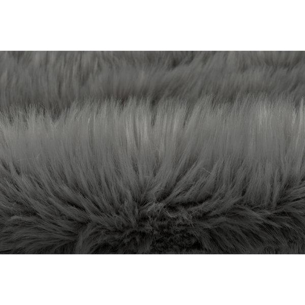 Vloerkleed-Schapenvacht-Zilver6