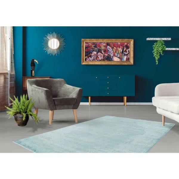 mintgroen-vintage-tapijt