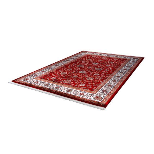 Oosters rood vintage vloerkleed