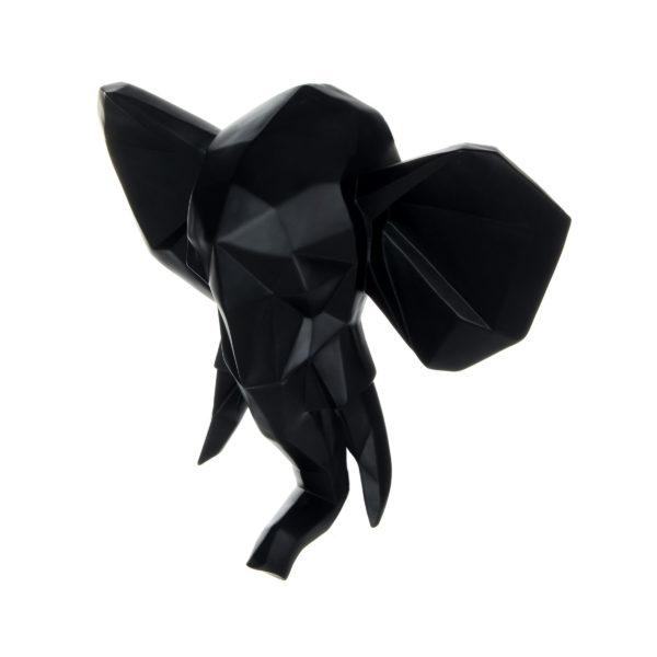 Olifant Zwart Wanddecoratie