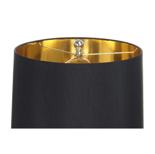 Vloerlamp Zwart-Goud Herio