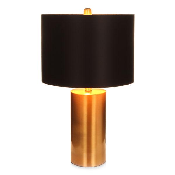 Vloerlamp Zwart-Goud Stowok