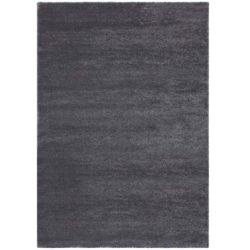 Donkergrijs hoogpolig tapijt