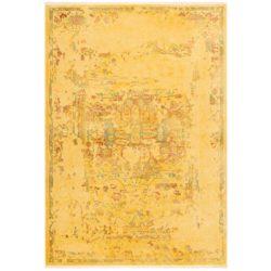 geel vintage tapijt