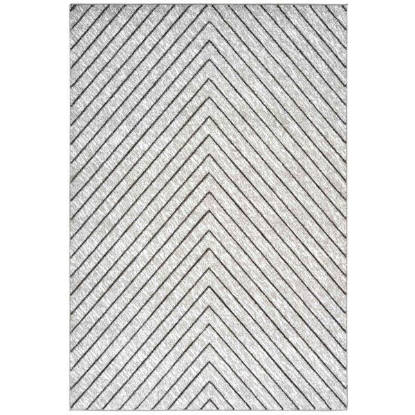 grijs design vloerkleed