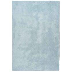 Lichtblauw hoogpolig vloerkleed pastel