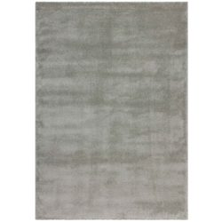 Pastoelgroen hoogpolig tapijt