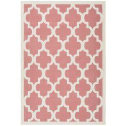 Roze design vloerkleed
