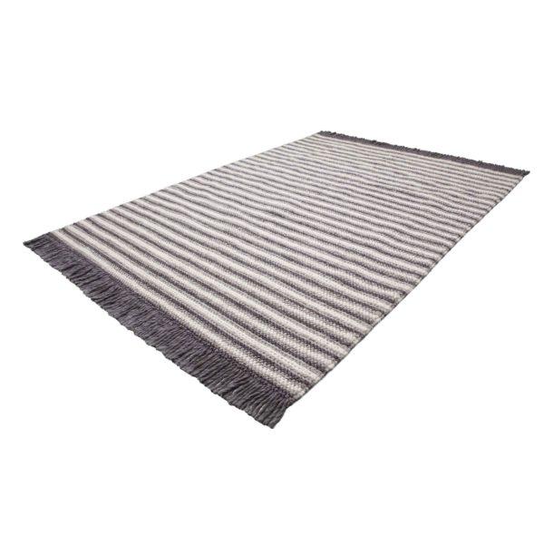 gestreept Scandinavisch tapijt