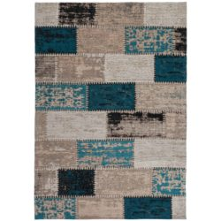 Vintage patchwork kleed