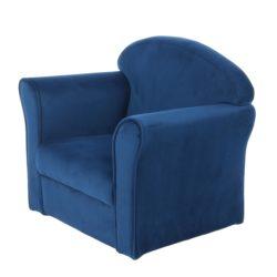 Blauwe kinderkamer stoel
