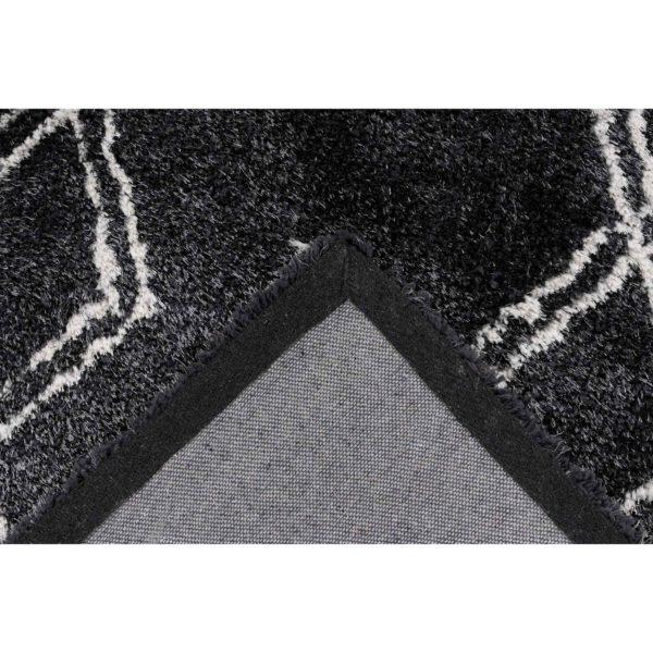 Zwart-design-vloerkleed