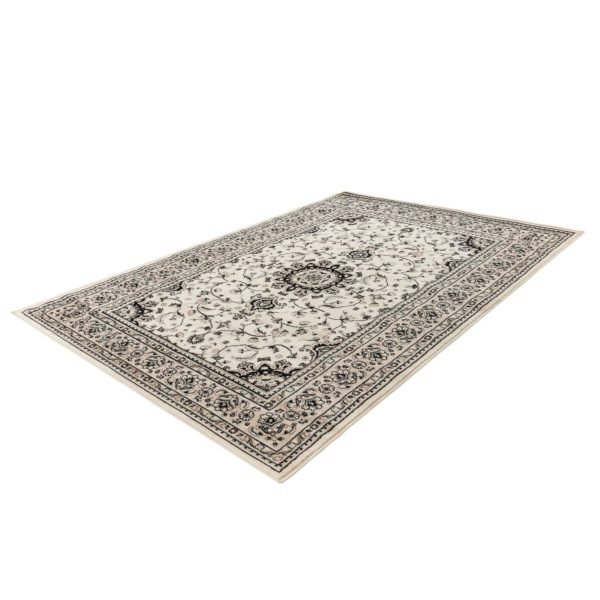 wit Perzisch tapijt