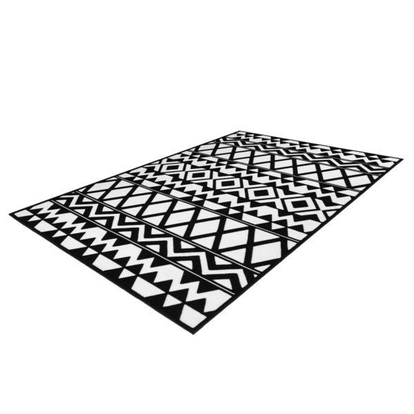 zwart-wit-retro-vloerkleed