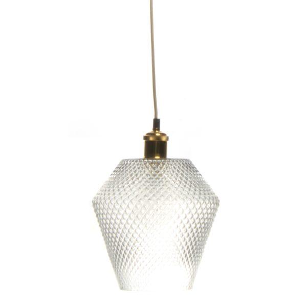 Glazen Hanglamp Naomi Goud