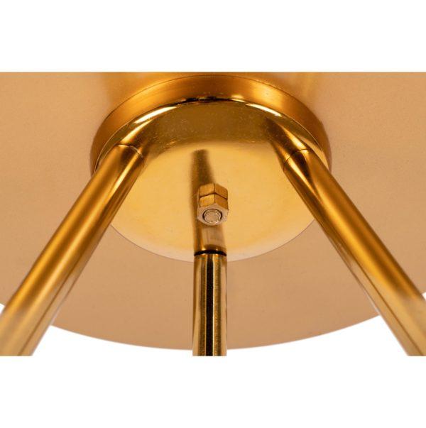 Gouden bijzettafel Marq XL Paars