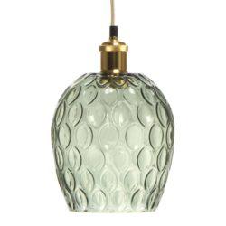 Groene glazen Hanglamp Coro