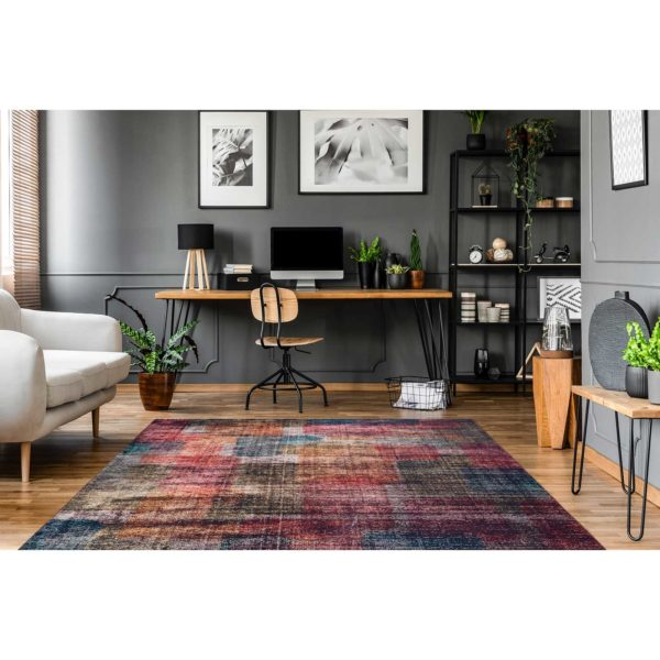 Kleurrijk design karpet