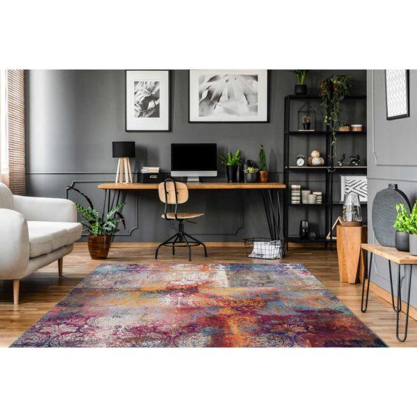 Kleurrijk design tapijt