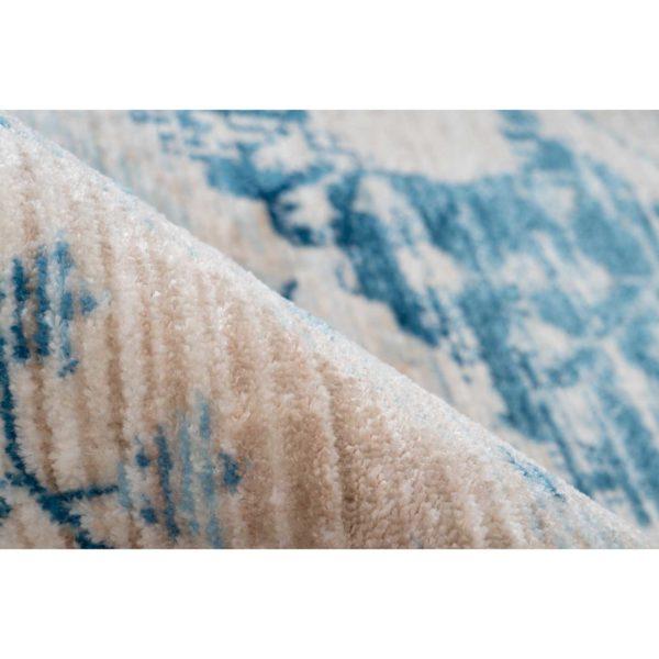 Blauw vintage vloerkleed