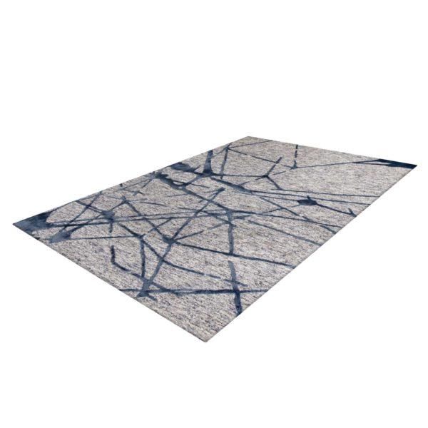 Grijs design tapijt