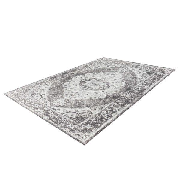 Grijs vintage tapijt