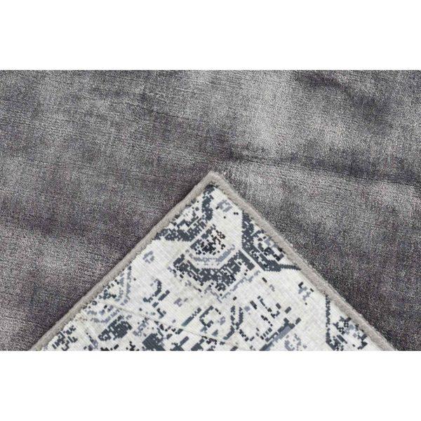 Luxe grijs vloerkleed