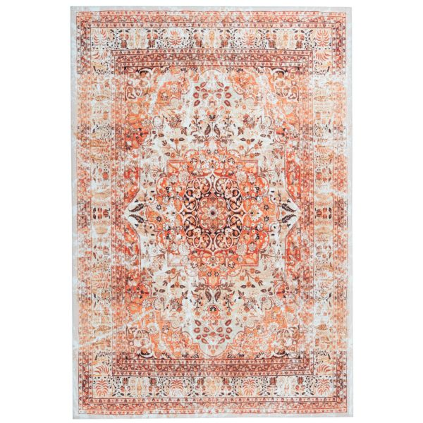 oranje-perzisch-tapijt