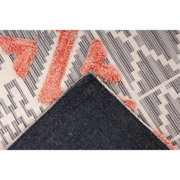 Oranje Scandinavisch tapijt