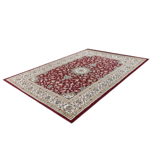 Perzisch tapijt rood