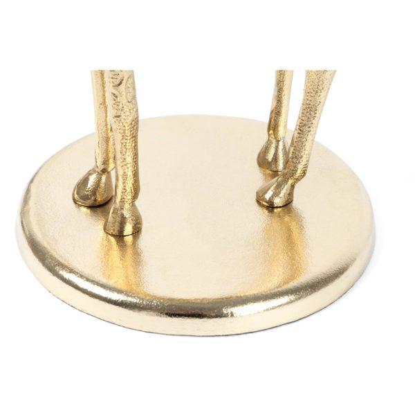 Gouden design bijzettafel Girav