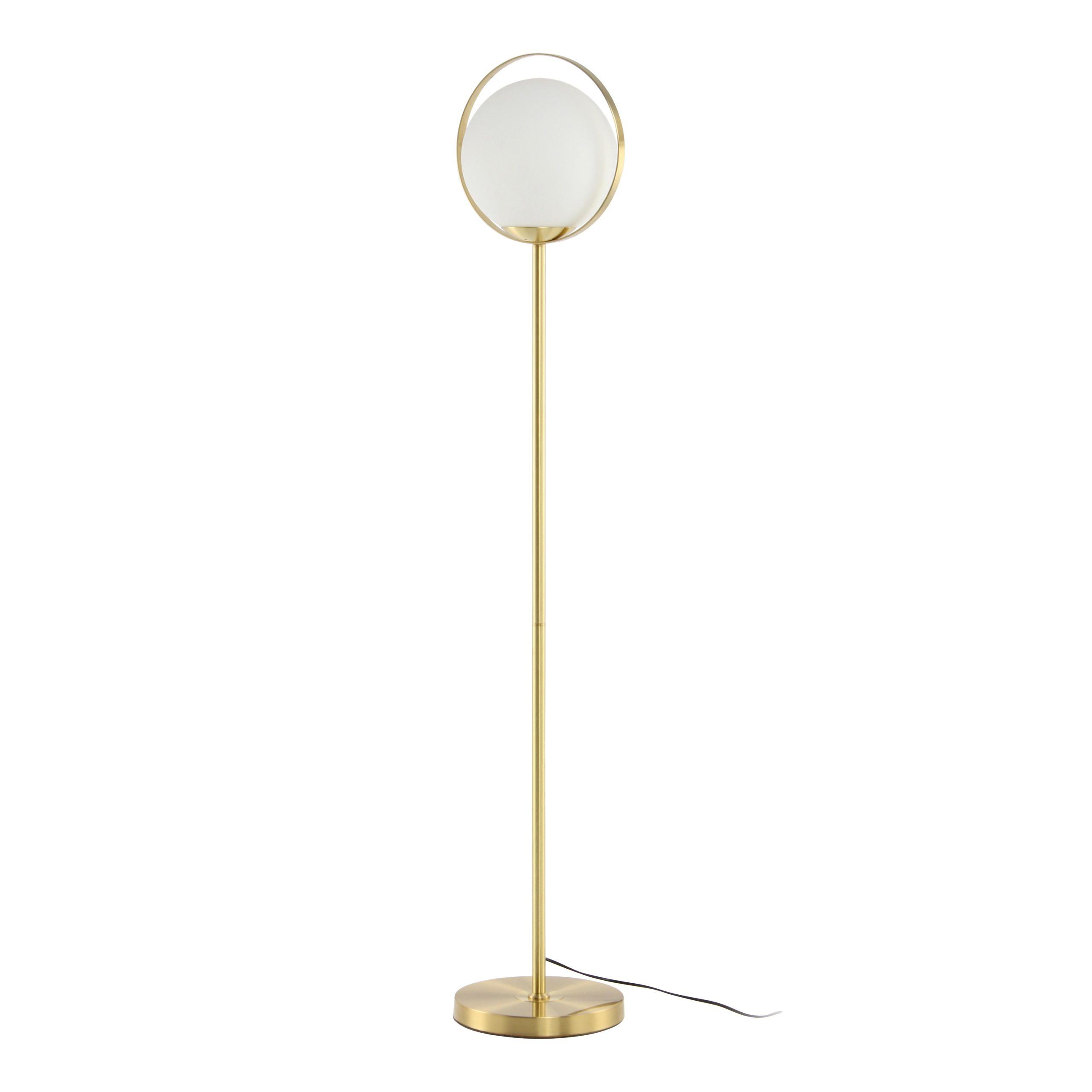 Wonderbaarlijk Gouden staande lamp kopen? | Vloerlampen | kameraankleden.nl KD-22