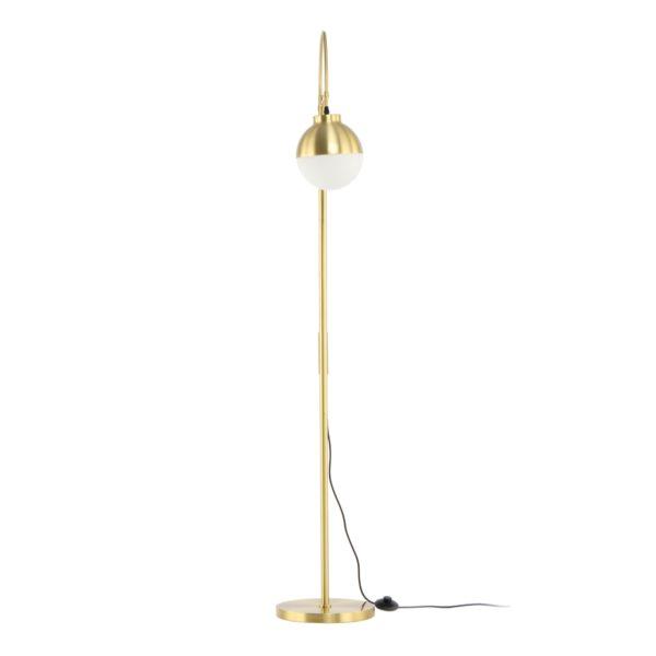 Gouden vloerlamp Lovinia