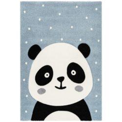 Blauw-kindervloerkleed-Panda