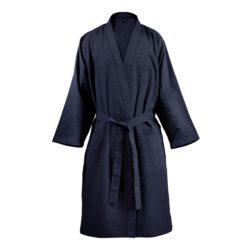Donkerblauwe badjas Florence