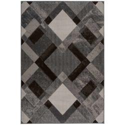 Donkerbruin-retro-tapijt